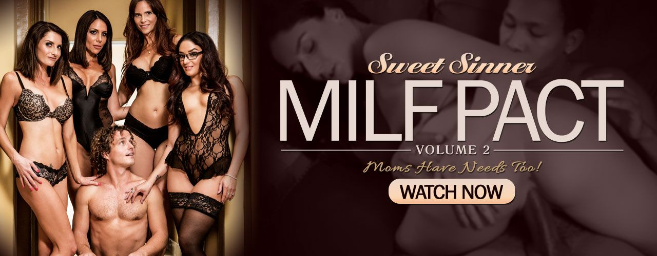 Sweet Sinner presents MILF Pact! Moms have needs too! Watch it now!