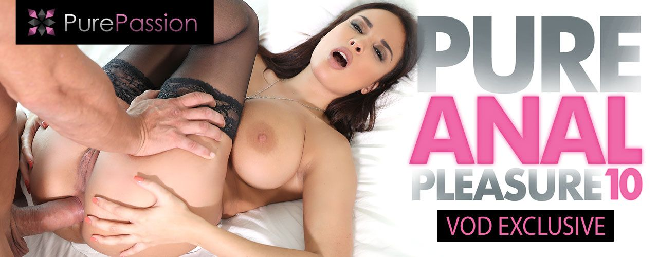 Pure Passion brings you the VOD exclusive Pure Anal Pleasure 10! Check out this amazing release right now!