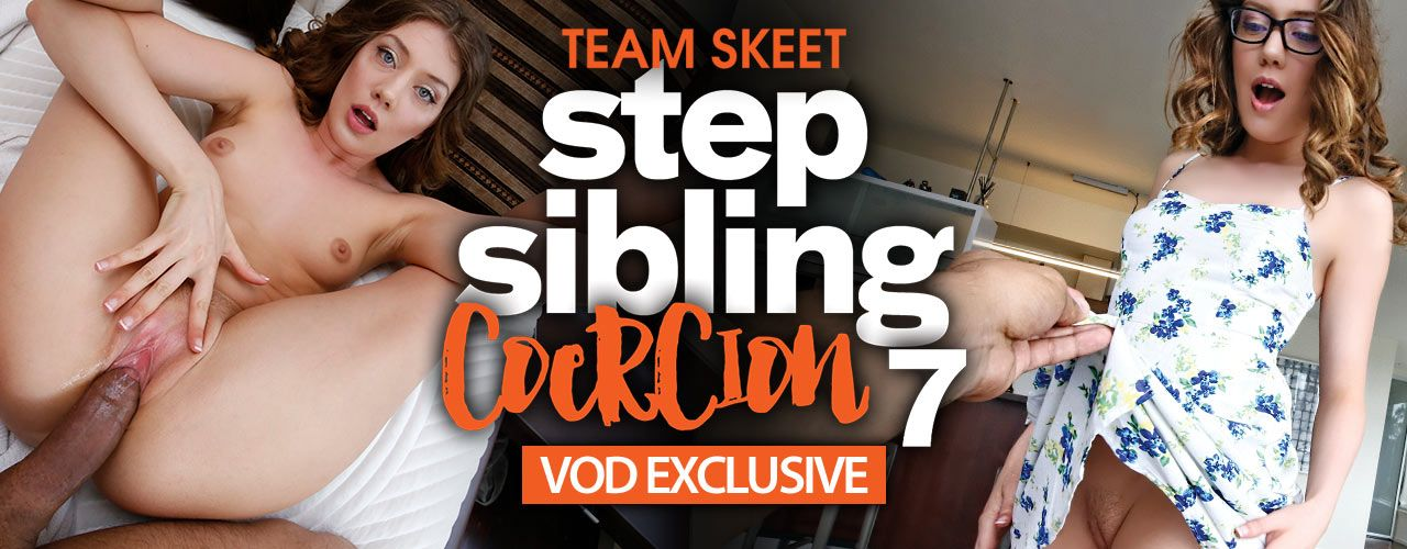 The boys don't pay attention to her, but her step brother sure does! Check out Step Sibling Coercion 7 right now!