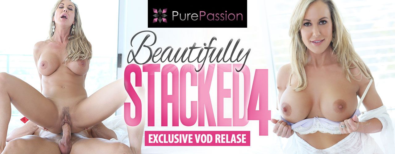 Pure Passion brings you 5 unforgettable stars with amazing curves in Beautifully Stacked 4! Watch it now!