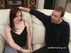 Girlfriends testing tongues with naughty words and oral 4