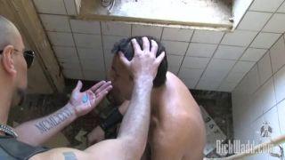 Titty fuck cum chest