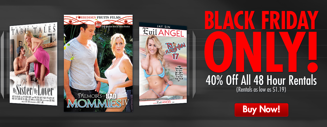 Black Friday 48 Hour Rental, don't miss your favorite title on sale!