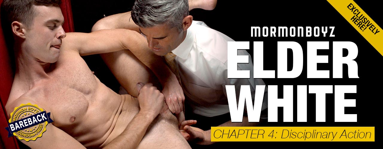 Mormonboys continues the hot taboo series with Elder White Chapter 4.