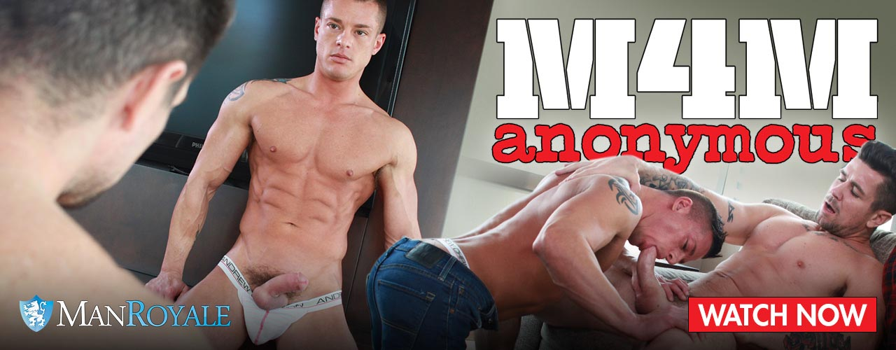 Man Royale Presents M4M Anonymous, a video about hot anonymous hookups.