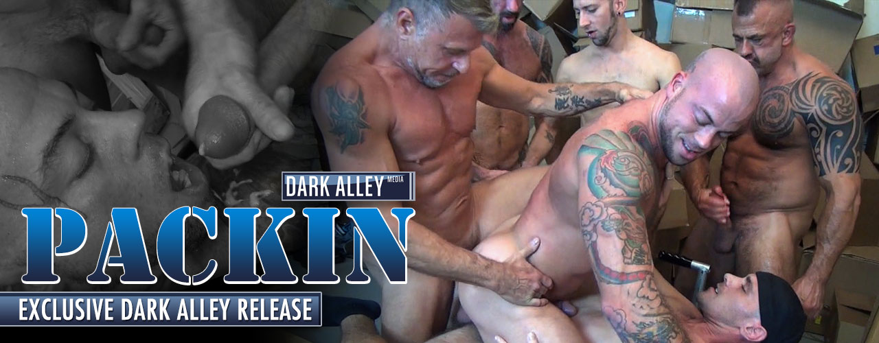 Watch the newest from Dark Alley and Raw Fuck Club called Packin.