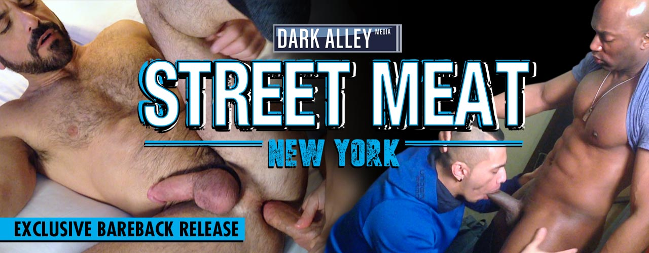 Dark Alley brings you more hardcore action in Street Meat NY!