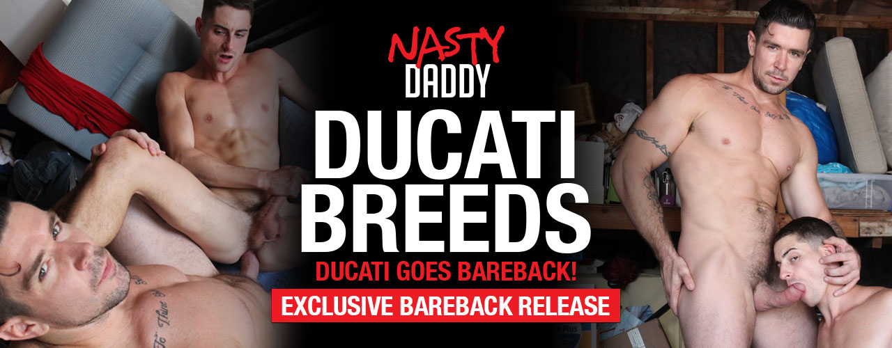 First time bareback with Trenton Ducait, you won't want to miss this!!
