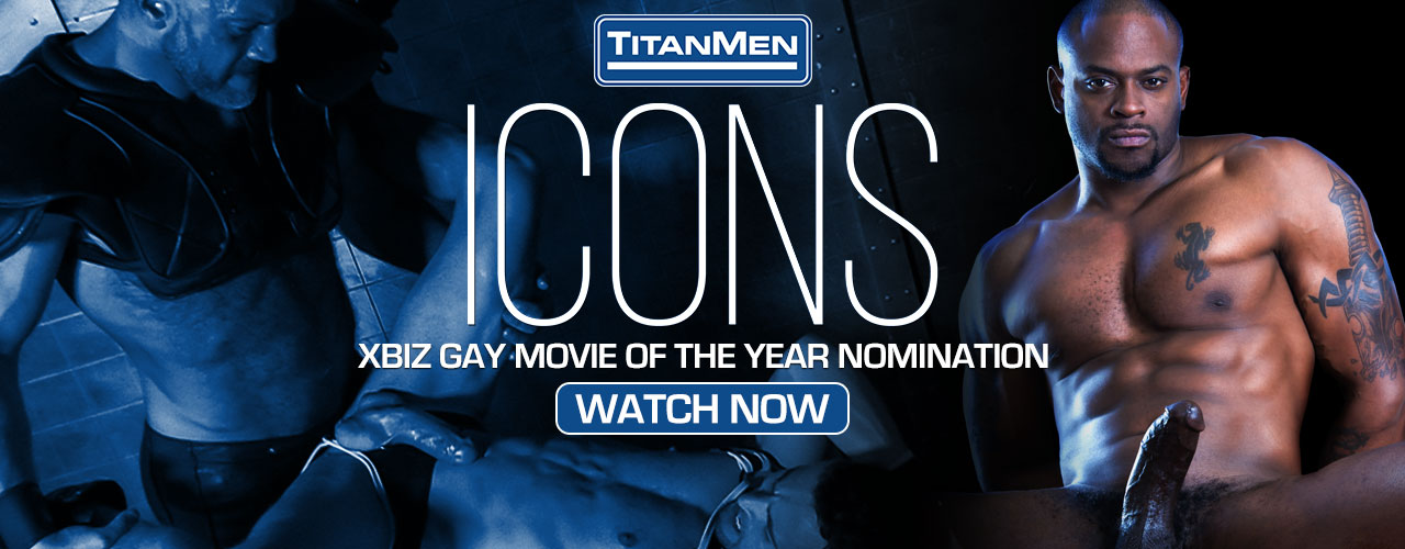 Titan Media presents Icons, a collection of Titan Media's hottest performers going at each other and relieving their hard cocks of some stress.