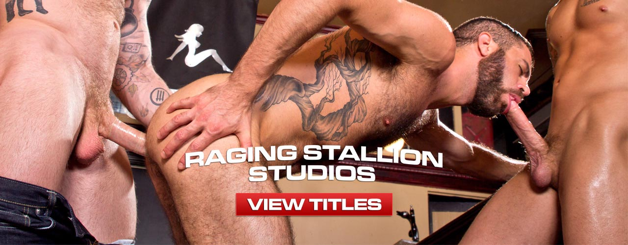 Watch all your favorite films from Raging Stallion!