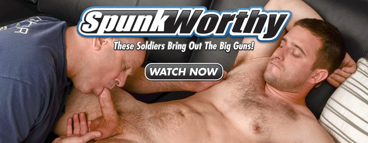 Watch as the director of SpunkWorth works out load after load from his military boys!