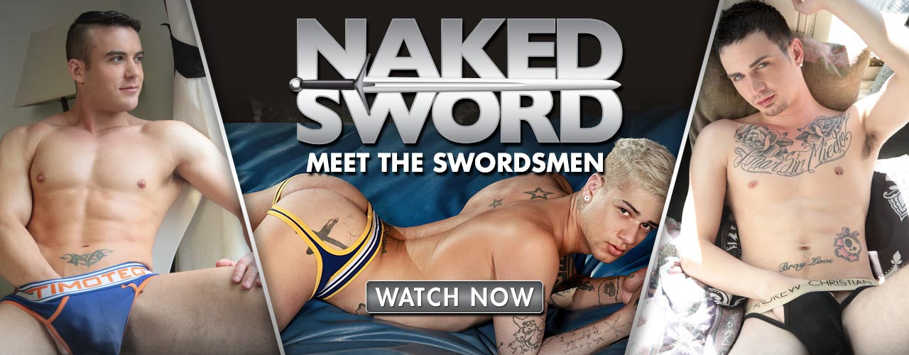 Naked Sword is now producing its own movies and original series such as Golden Gate, always featuring the sexiest men!