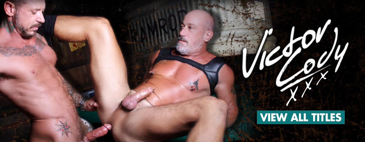 Victor Cody is the double cumshot King, check out all the Hot Sticky videos now.