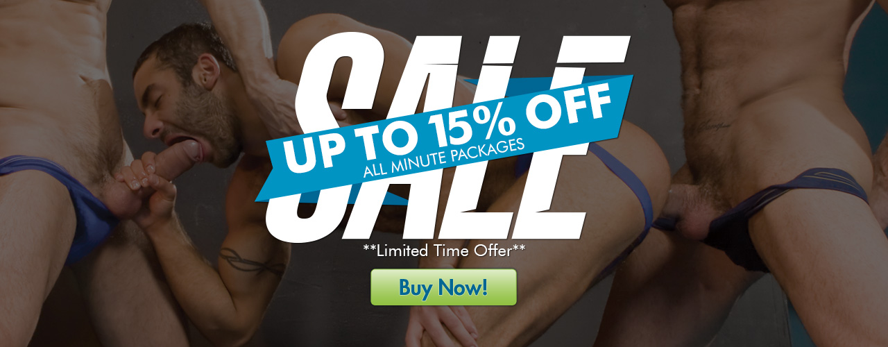 Save up to 15% on all minute packages with this limited time sale!