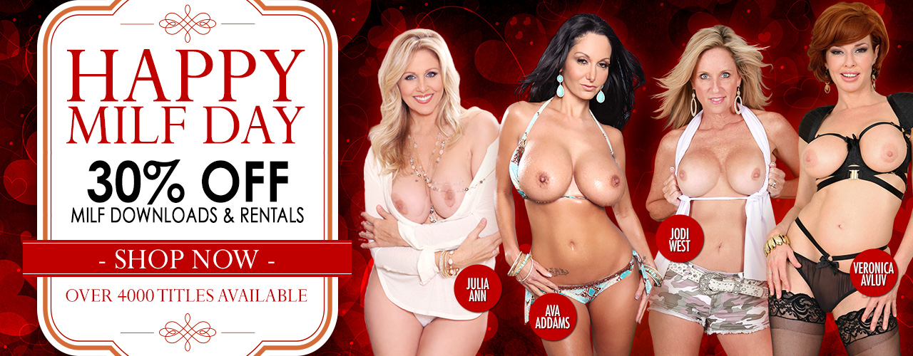 Get all the MILF rentals and downloads at a discounted price for a limited time.