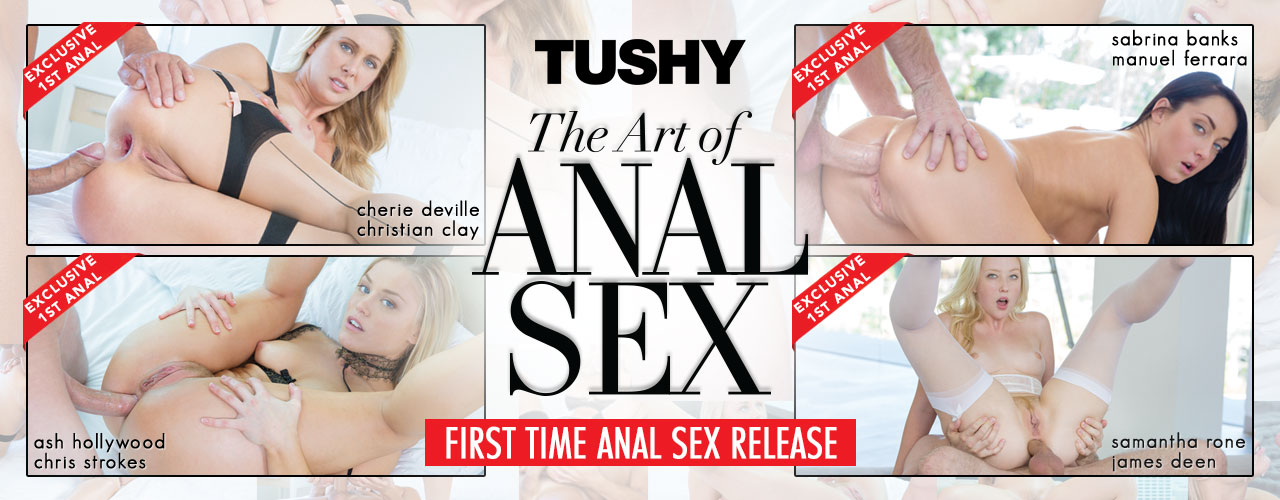 Tushy is proud to present The Art of Anal Sex.