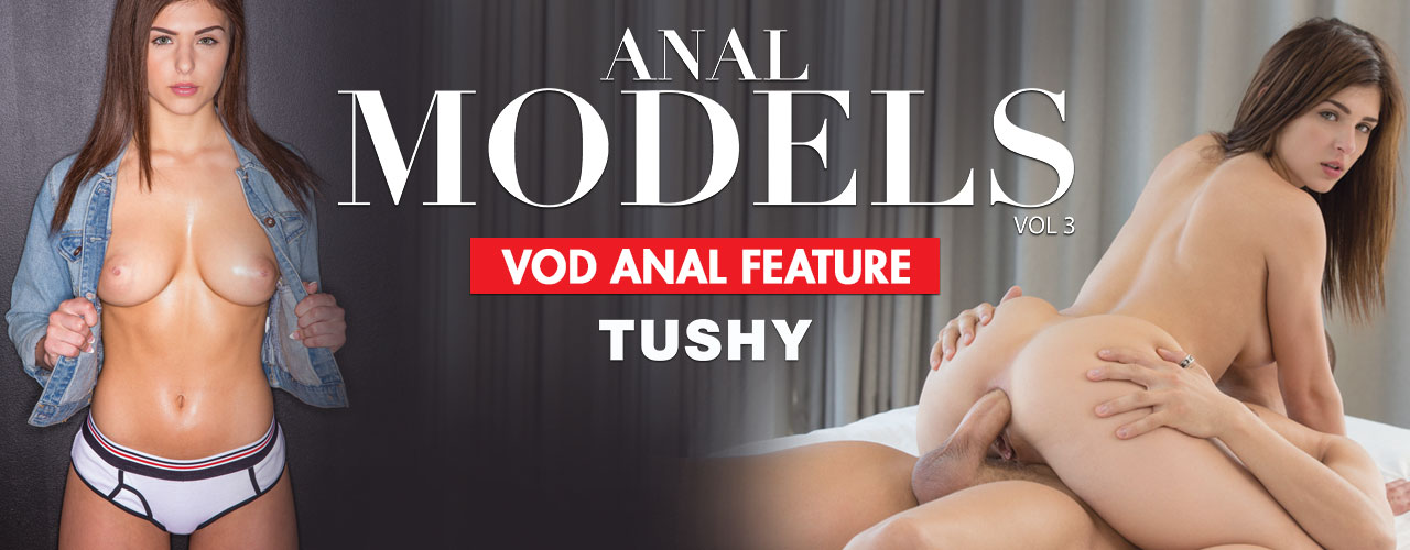 Anal Models 3 showcases cover girl Leah Gotti in her 1st ever anal scene.