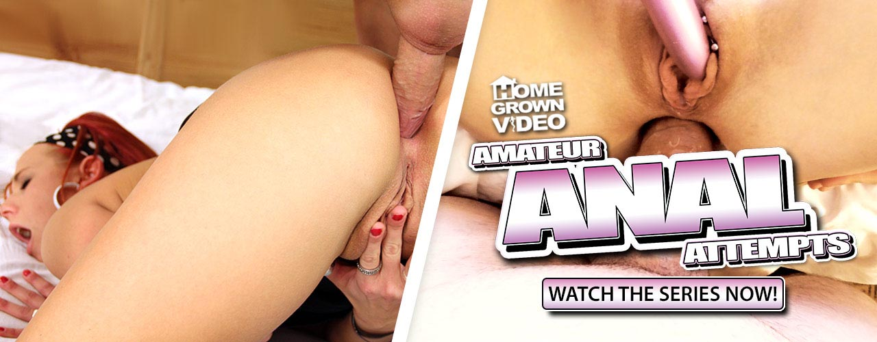 Check out the hot series Amateur Anal Attempts!