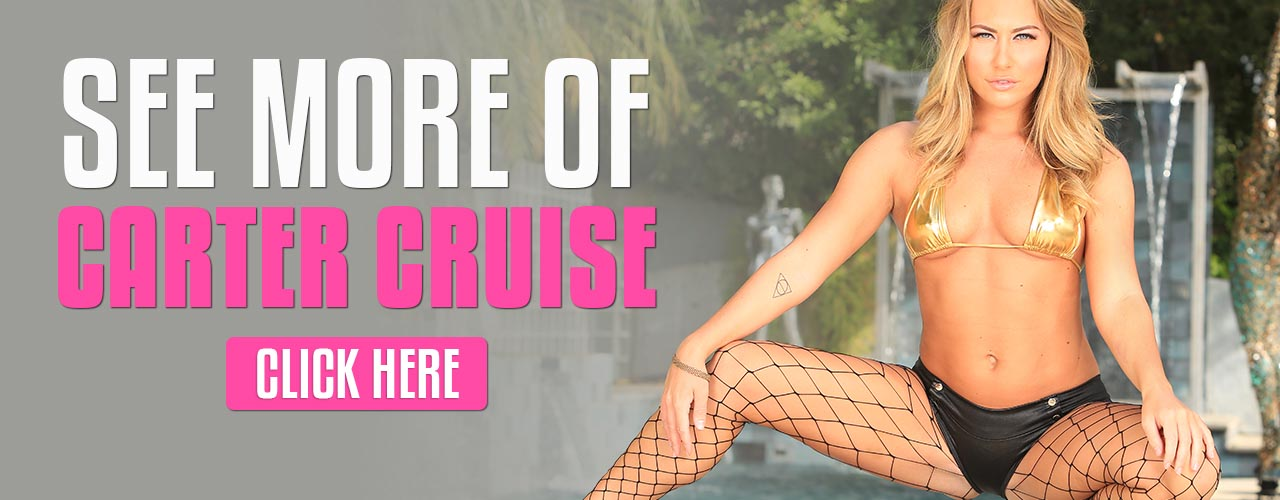 Watch Carter Cruise, this gorgeous blue-eyed blonde will take it all!