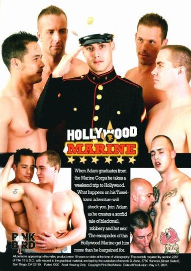 Hollywood Marine Cover Back