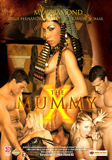 The Mummy X cover