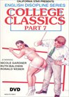 English Discipline Series: College Classics 7