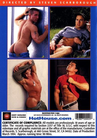 Backstage Pass (Bullwhip) Cover Back