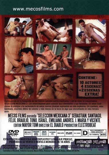 Seleccion Mexicana 3 Cover Back