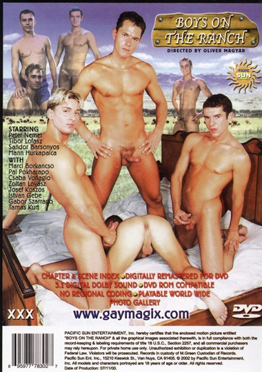 The Boys on the Ranch Cover Back
