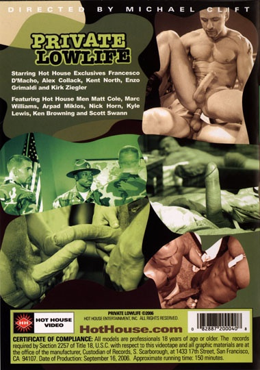 Private Lowlife Cover Back