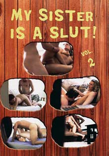 My Sister Is A Slut 2 cover