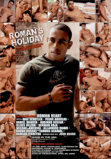 Romans Holiday Cover Back
