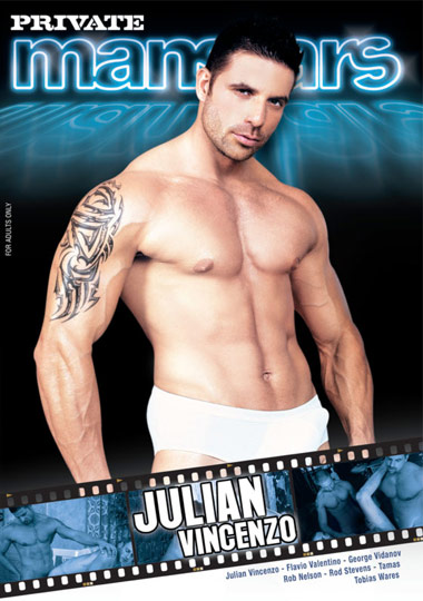 Private Manstars 11 Julian Vincenzo Cover Front