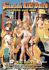 The Violation Of Kiki Daire: A Lesbian Gang Bang
