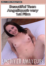 Unedited Amateurs: Beautiful Teen Angelique's Very 1st Film