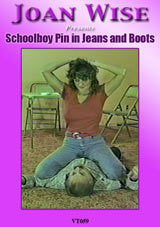 Schoolboy Pin In Jeans And Boots