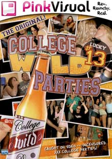 College Wild Parties 13 cover