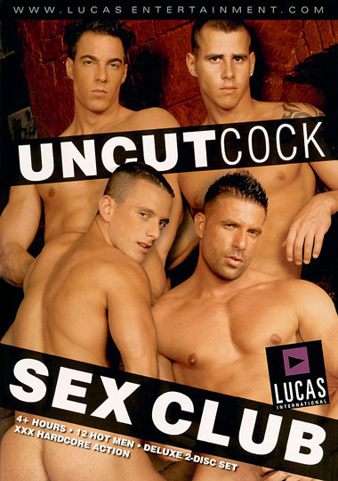Uncut Cock Sex Club Cover Front