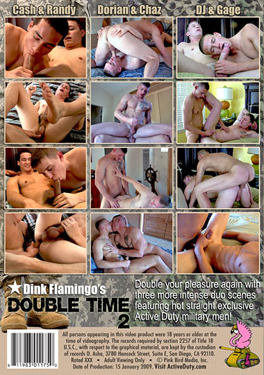 Double Time 02 Cover Back