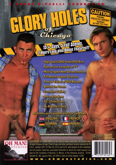 Glory Holes of Chicago Cover Back