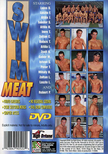 Swim Meat 1/MNS Maîtres Nageurs Sauveteurs Cover Front