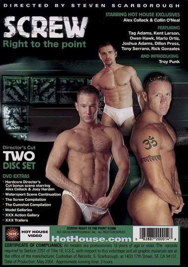 Screw 1 Right to the Point Cover Back