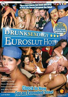 Drunk Sex Orgy: Euroslut Hotel cover