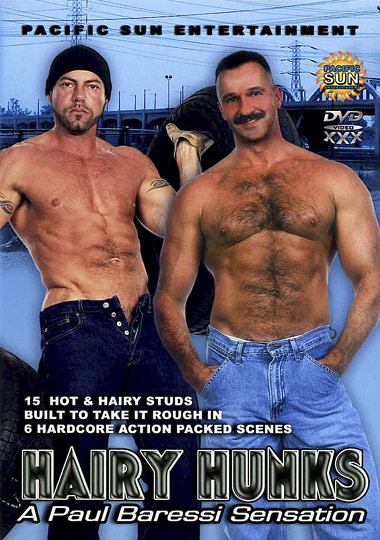 Hairy Hunks Cover Front