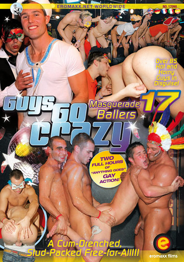 Guys Go Crazy 17 Masquerade Ballers Cover Front