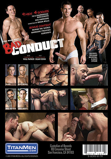 Bad Conduct Cover Back