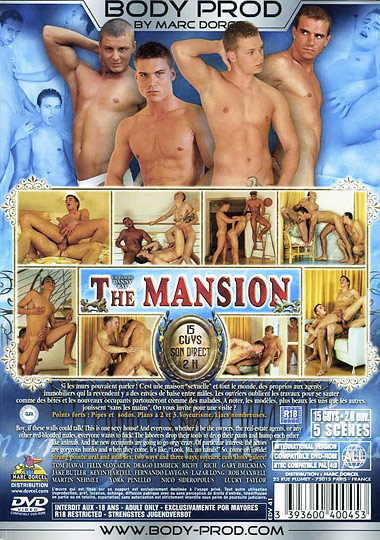 The Mansion aka Hot Property Cover Back
