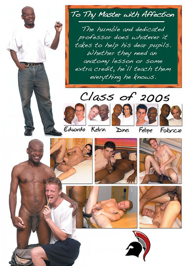 School Boy Crush aka To Thy Master with Affection Back Cover