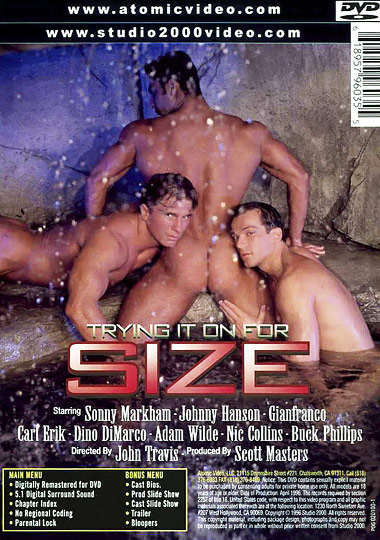 Trying It on for Size Cover Back