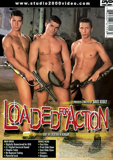Loaded for Action Cover Back